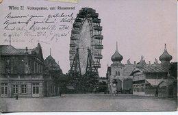 003868  Wien - Volksprater Mit Riesenrad 1917 - Prater