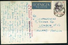 RB 1208 -  Postcard Zakopane South Poland - Monument - Ponznik Dr. Chatubinskiago I Sabaty - Poland