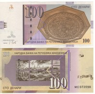 MACEDONIA. NEW.  100 Denari,   Pnew.  (dated  May  2018)  UNC. - Macedonia