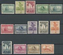 SPANIEN 408-21 *, 1929, Internationale Ausstellungen, Falzrest, Prachtsatz - Spain