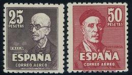 SPANIEN 948**,949* , 1947, De Falla Und Zuloaga, Pracht - Spain