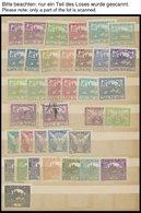 TSCHECHOSLOWAKEI *,**,o , Altes Dublettenbuch Tschechoslowakei Bis Ca. 1938, Teils In Postfrischen Blockstücken - Czechoslovakia