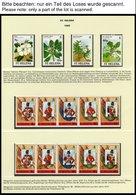 ST. HELENA 495-587 **, 1989-92, Komplett Mit Paralellausgaben Ascension Und Tristan De Cunha 1990, Fast Nur Auf Linder F - Saint Helena Island