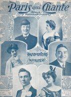 Paris Qui Chante N°157 Partitions Le Rouleau De Musique, Le Chasseur Maladroit, Bon Blanc, Le Médecin Des Familles 1906 - Livres, BD, Revues