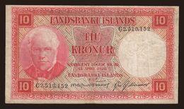 10 Kronur, 1928 - Iceland