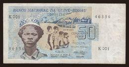 50 Pesos, 1975 - Guinea-Bissau
