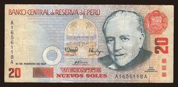 20 Soles, 1991 - Peru