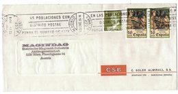 A66  Spain 1984 Cover From Madrid To Austria - 1931-Aujourd'hui: II. République - ....Juan Carlos I
