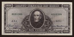 1000 Pesos / 1 Escudo, 1960 - Chile