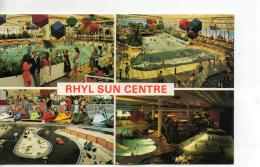 Postcard - Rhyl Sun Centre Four Views - Unused Very Good - Postales