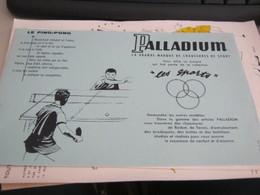 BUVARD PUBBLICITARIA PALLADIUM - Sports