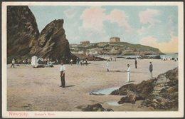 Bishop's Rock, Newquay, Cornwall, C.1905 - Peacock Postcard - Newquay