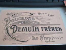 BUVARD PUBBLICITARIA BOUCHONS DEMUTH FRERES - Buvards, Protège-cahiers Illustrés