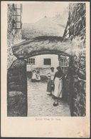 Street View, The Digey, St Ives, Cornwall, 1903 - Valentine's Postcard - St.Ives