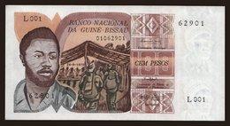 100 Pesos, 1975 - Guinea-Bissau