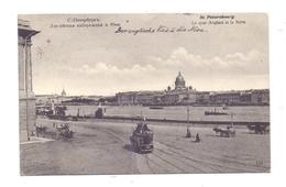RU 190000 SANKT PETERSBURG, Le Quai Anglais Et La Neva, Horse-Tram, 1906 - Russland