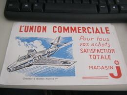 BUVARD PUBBLICITARIA L'UNION COMMERCIALE - Transport