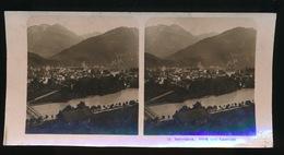 INTERLAKEN - PHOTO STEREO CARD - BLICK VOM LUSTBÜHL - Suisse