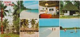 Bp - CPM Grand Format SEYCHELLES - Denis Island (10 X 21 Cm) - Seychelles
