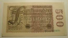1923 - Allemagne - Germany - 500 MILLIONEN MARK - 41 AB - 133891 - 1918-1933: Weimarer Republik