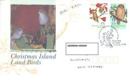 CHRISTMAS - FDC - 11.07.1996  - LAND BIRDS -  Yv 432-434- Lot 17336 - Christmas Island