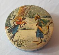 La Cigale Et La Fourmi Fable De La Fontaine - Boite De Bonbons Tissot Frescomint - Boîtes