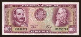1000 Soles, 1969 - Peru