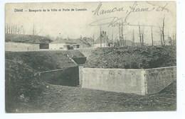 Diest Remparts De La Ville Et Porte De Louvain - Diest