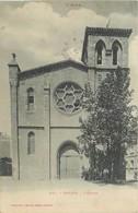 11  THEZAN  L'église    2scans - Francia