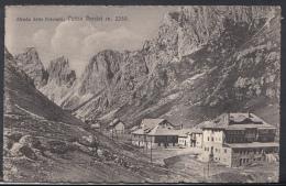 Italy Postcard - Strada Delle Dolomiti, Passo Pordoi M.2250 - DC1884 - Zonder Classificatie