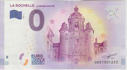 Billet Touristique 0 Euro Souvenir France 17 La Rochelle - La Grosse Horloge 2018-2 N°UEET001252 - EURO