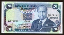 20 Shillings, 1991 - Kenya