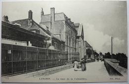 LA GARE DE LA CRÉMAILLÈRE - LANGRES - Langres