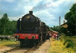 CHAMPIGNY En Voiture  MACHINE 141C100 1922 - Trains