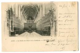 CPA 81 Tarn Albi Les Stalles Du Choeur De La Cathédrale - Albi