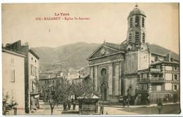 CPA 81 Tarn Mazamet Eglise Saint-Sauveur Animé - Mazamet
