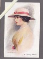 Illustrateur  - Syd Briault - A Country Mouse - N° 2856 James Henderson - Femme Au Chapeau - Otros Ilustradores