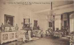 Le Roeulx - Château à S A S Le Prince De Croy-Solre - Le Salon Rond - Pas Circulé - TBE - Le Roeulx