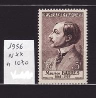 1956 N 1070 N** AF34 - France