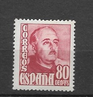 1954 MH Espana, Spain, Ongestempeld - 1951-60 Ungebraucht
