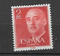 1955 MH Espana, Spain, Ongestempeld - 1951-60 Nuovi