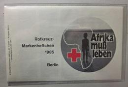 Markenheftchen BRD Rotes Kreuz Berlin 1985 Afrika Muß Leben Wohlfahrtsmarken - Markenheftchen