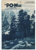 """""""Le P.O - MIDI """" N°34 Juillet 1934 édité Par La SNCF  Cie Orléans Et Midi - Chemins De Fer Détails Voir Sommaire (fr61) - Livres, BD, Revues"""