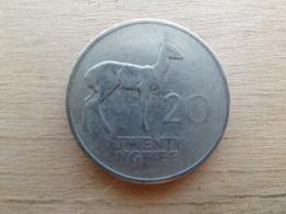 Zambie  20 Ngwee  1968  Km 13 - Zambie