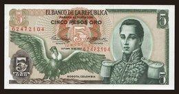 5 Pesos, 1967 - Colombia