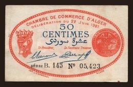 50 Centimes, 1921 - Algeria