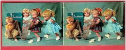 CALENDRIER PUBLICITAIRE 1965 BAS MINUIT SLIPS COLLANTS EN BON ETAT - Calendars