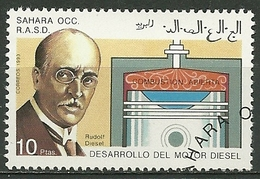 1993 Sahara Occidental RASD Rudolf Diesel Used Stamp - P1382 - Spanische Sahara