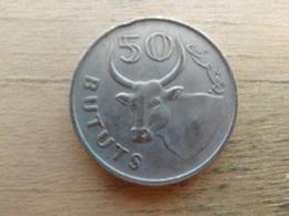 Gambie  50  Bututs  1971  Km 12 - Gambie