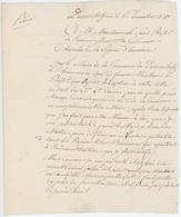 Durrentzen 1815 Remplacement Du Maire Lettre En Franchise - 1801-1848: Precursori XIX